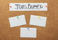 Jobs Board Stock Photography